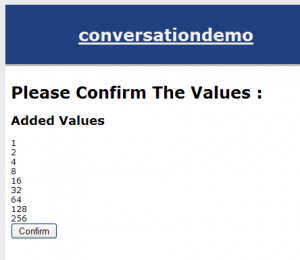 Conversational Number Confirmation