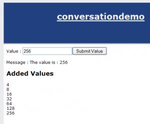 Conversation Number List Screenshot
