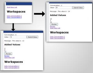 Conversation Workspace Screenshot